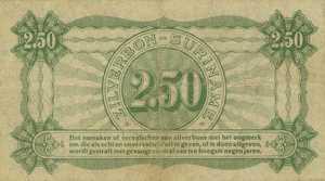 Suriname, 21/2 Gulden, P103