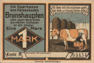 Germany, 1 Mark, 195.2a