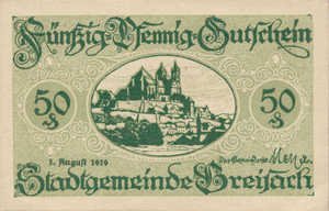 Germany, 50 Pfennig, B84.6