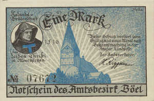 Germany, 1 Mark, 132.1a