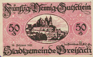 Germany, 50 Pfennig, B84.13a