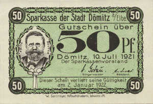 Germany, 50 Pfennig, 278.1