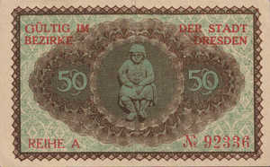 Germany, 50 Pfennig, D30.3