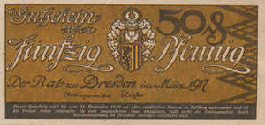 Germany, 50 Pfennig, D30.2b