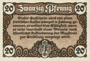 Germany, 20 Pfennig, E22.3b