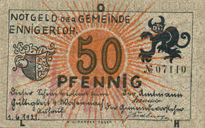 Germany, 50 Pfennig, 338.2b
