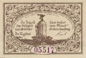 Germany, 10 Pfennig, 385.1b