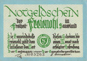 Germany, 50 Pfennig, 384.1