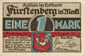 Germany, 1 Mark, 402.8