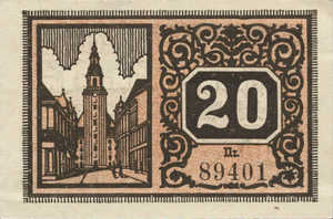 Germany, 20 Pfennig, F11.6d