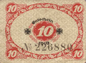 Germany, 10 Pfennig, G18.3a