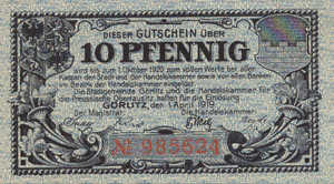 Germany, 10 Pfennig, G24.5