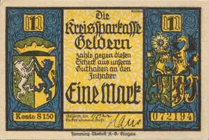 Germany, 1 Mark, 414.1a