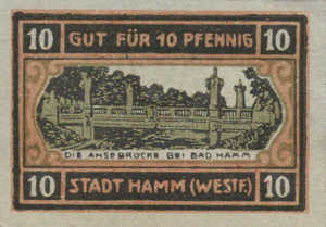 Germany, 10 Pfennig, 568.3a