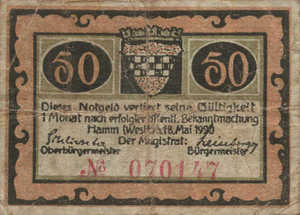 Germany, 50 Pfennig, 568.3a