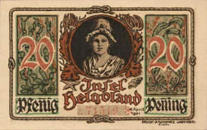 Germany, 20 Pfennig, 595.2a