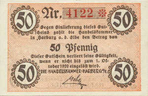 Germany, 50 Pfennig, H15.1b