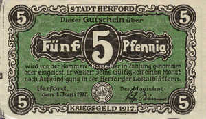 Germany, 5 Pfennig, H28.3a