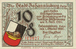 Germany, 10 Pfennig, 662.1a