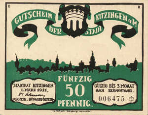 Germany, 50 Pfennig, 702.1