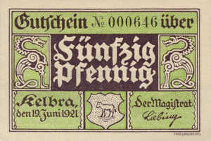 Germany, 50 Pfennig, 686.1