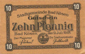 Germany, 10 Pfennig, K39.1a