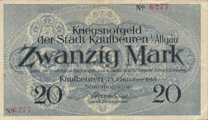 Germany, 20 Mark, 267.06