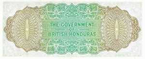 British Honduras, 1 Dollar, P28c
