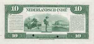Netherlands Indies, 10 Gulden, P114s