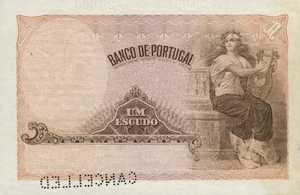 Portugal, 1 Escudo, P113as